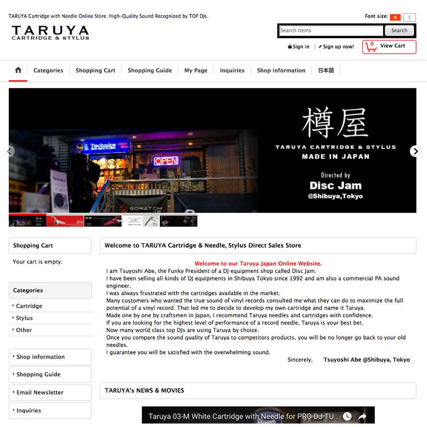 TARUYA JAPAN from TOKYO